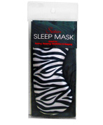 Swissco Satin Sleep Mask Zebra Print