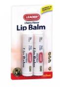 Leader Lip Balm Cherry 2 EA