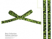 Fashion Leopard printed Shoe laces/Tiger/zebra