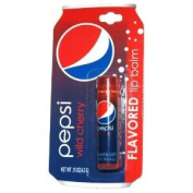 Pepsi Wild Cherry Flavoured Lip Balm Tube