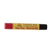 THE NAKED BEE NATURAL LIP colour 5ml/2.55G-GINGER BERRY