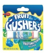 Betty Crocker Fruit Gushers Fruitomic Punch Flavoured Lip Balm!