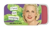 I Love not camping wild cherry Lip Balm