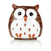 Bronze Glitter Owl Lip Balm - Creme Brulee flavour!