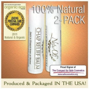 NaturOli All Natural Chap Relief Lip Balm - 2 Pack!
