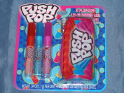 Push Pop Lip Glosses(3) with Carrying Case