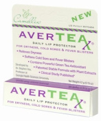AverTeaX® Natural Daily Lip Protector, for Everyday Use on Dry, Cracked, and Chapped Lips and for Cold Sores/Fever Blisters