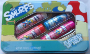 The Smurfs 4 Flavoured Lip Balms in Gift Tin