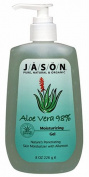 JASON Natural Cosmetics Aloe Vera 98%, Moisturising Gel, 240ml