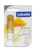 Labello Pure & Natural - Milk & Honey Lip Balm Stick 5g
