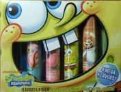 SpongeBob Squarepants Flavoured Lip Balm Fat Tubes 4 Pack