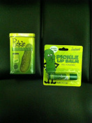 PICKLE Lovers COMBO Gift Pack- Pickle Adhesive Bandaids & Pickle Flavoured Lip Balm
