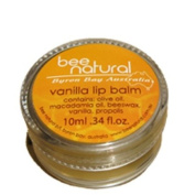 Bee Natural Byron Bay Australia Vanilla Lip Balm, 10ml Units