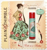 BlueQ Plain & Thimble Lip Balm