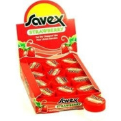 Savex Strawberry Fraise (lip balm) 12pack 5ml