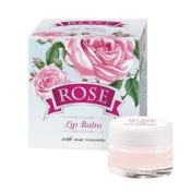 Lip Balm with Pink Rose Concrete Bulgarian Rose Water