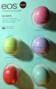 eos Organic Smooth Sphere Lip Balm - 5 Pack