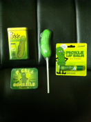 PICKLE Lovers MEGA Gift Pack- Pickle Gumballs, Pickle Lip Balm, Pickle Adhesive Bandaids & Pickle Sucker