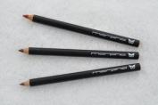 Cumaru, Zanga, Tonka - SET of 3 Creamy Lip Perfecting Pencils with Sheer Sheens of pink, gold or bronze provide long lasting lip colour - Morpho Cosmetics