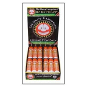 The Merry Hempsters Organic Hemp Lip Balm Mandarin Orange Counter Display 5ml/24pc from The Merry Hempsters