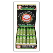 The Merry Hempsters Organic Hemp Lip Balm Lemon-Lime Counter Display 5ml/24pc from The Merry Hempsters