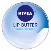 Nivea Lip Butter Loose Tin, Smooth Kiss, 15ml