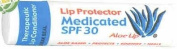 Aloe Up Medicated Lip Balm SPF 30 3 Pack