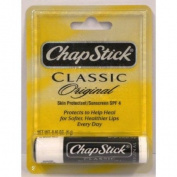 ChapStick Classic Original Skin Protectant / Sunscreen SPF 4, 5mls