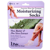 Nu-Pore Moisturising Socks, 1 Pair by EasyComforts