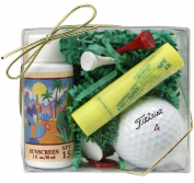 Arizona Sun Golf Set - Includes Sun Screen SPF 15 - Sun Protection - SPF 15 Lipkist Lipbalm - Sun Protection lip balm for lips - Golf Tees - Ball Markers - Golf Ball - Perfect Gift Idea For a Golfer