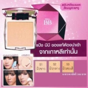 Korea Mistine BB Diamond Super Pressed Powder Blemish Balm Foundation Spf25.