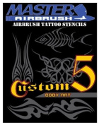 Brand New Helpful Airbrush Stencils 30 Temporary Tattoos Designs Design Book 5 Profession Popular Hot Stylish Style Design Pattern