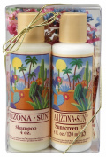Arizona Sun - 120ml Gift Set - Choose Any 1 Bath Product and Any 1 Sun Protection Product - Natural Skincare - Skin Care Idea - Soothing - Moisturising - Great Gift For Anyone - Any Occasion - Birthday - Holiday
