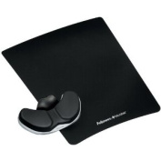 FELLOWES 8037501 Leatherette Gliding Palm Support-by-FELLOWES