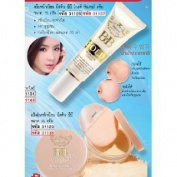 Mistine BB Gold Brightening Wonder Cream & Bb Wonder Loose Crystal Clear Powder.