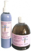 Naturally Pampered Dragonfly Wishes Body Wash and Sprayable Lotion Gift Set