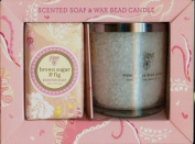Scented Soap & Wax Bead Candle Gift Set