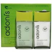 Korean Cosmetics_Adonis Green Tea Leaf for Men 2pc Gift Set