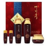 Korean Cosmetics_Yejihu Herbal Skin Care Premium Jinyul 3pc Set