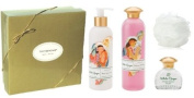 Terranova White Ginger Perfume, Body Lotion and Shower Gel Gift Set