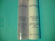 1 Phytomer Rosee Vizage Toning Lotion 250ml and 1 Perfect Visage Gentle Cleansing Milk 250ml