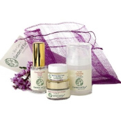 Garden of Eve Basic Face Care Kit -Clearly Lovely (Acne) (Sensitive)(non-comedogenic)(Certified Organic Ingredients) - Half Sizes