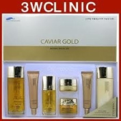 Korean Cosmetics_3w Clinic Caviar Gold Refining Special 7pc Set