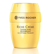 Yves Rocher Riche Crème Deep Regenrating Creme with 30 Precious Oils Collector Edition, 75 ml