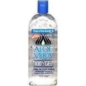 Fruit Of The Earth Aloe Vera 100 % Gel for Sunburn, 350ml
