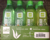 Aloe Vera Drink Original 6 Aloe and Honey 6 Mongosteen and Mango