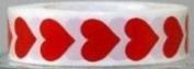Body Stickers 3/4 Hearts 50 CT