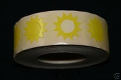 Sunburst Tanning Stickers 1000 CT Roll