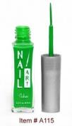 Nubar Nail Art Stripers Neon Green A115