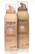 Jergens Natural Glow Foaming Daily Moisturiser Medium to Tan Skin Tones 180ml